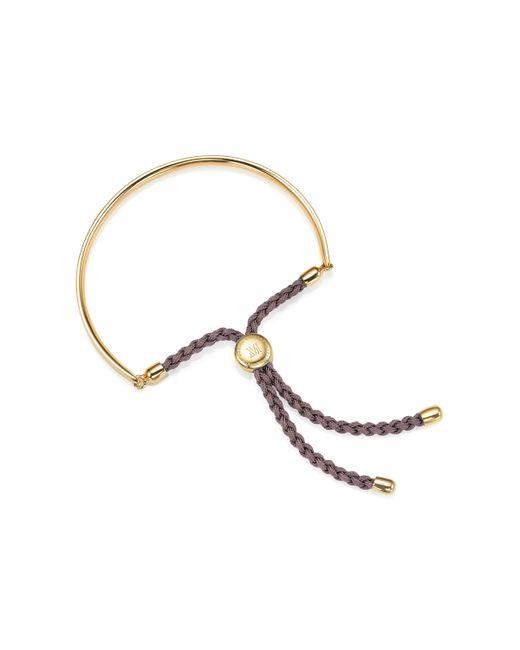 Monica Vinader | Purple Fiji Friendship Bracelet | Lyst
