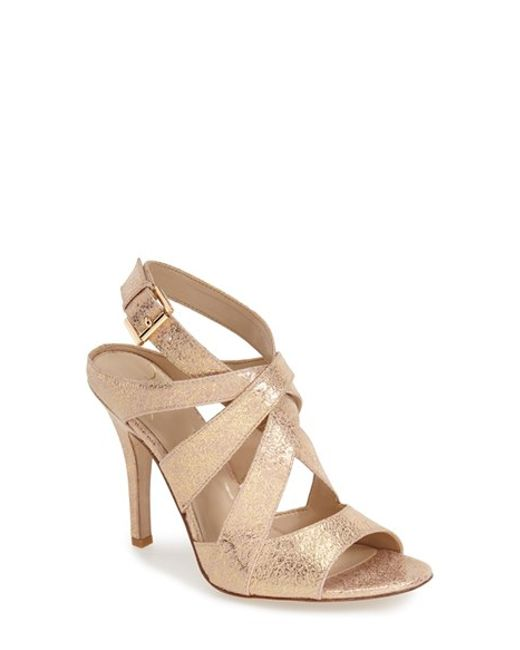 Kay Unger | Metallic 'phoebe Collection - Sussex' Sandal | Lyst