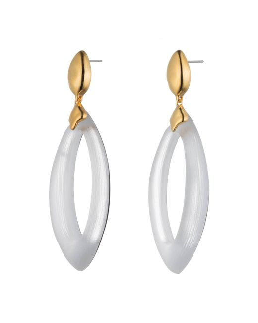 Alexis Bittar | Metallic Lucite Oval Drop Earring You Might Also Like | Lyst