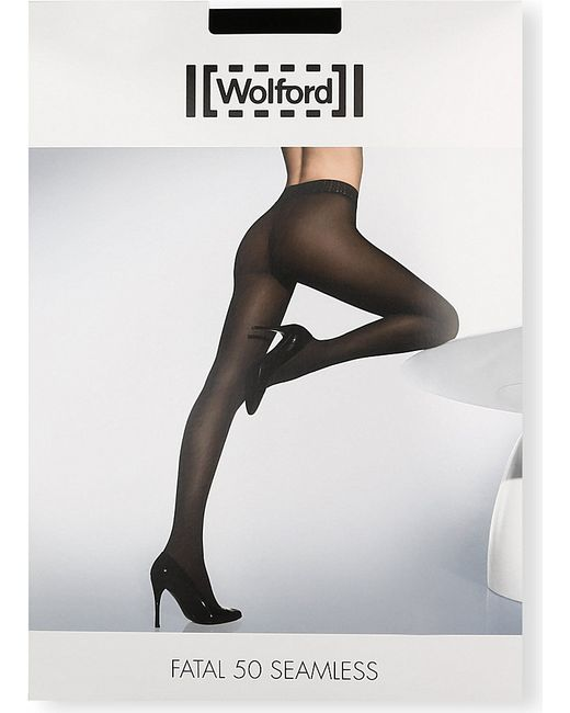 Wolford | Black Maternity Fatal 50 Seamless Tights | Lyst