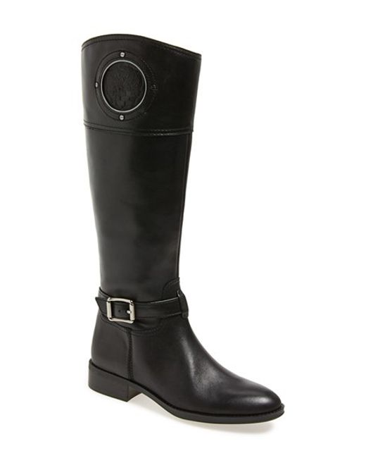 Vince Camuto | Black 'phillie' Tall Riding Boot | Lyst