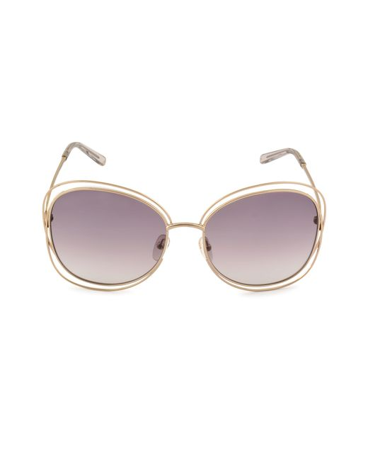Chloé | Gray Ce119s Sunglasses | Lyst