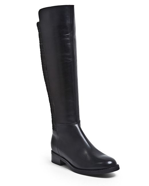 Blondo Elenor Waterproof Stretch Leather Knee High Boots