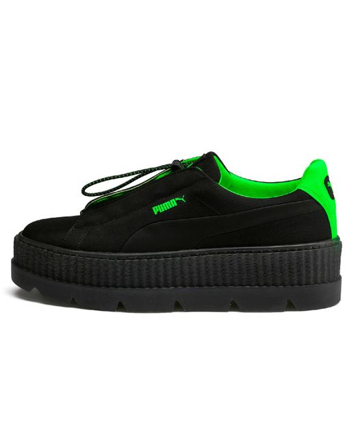 ccc2c7fbff1292 PUMA Cleated Creeper Surf Casual Trainers in Black - Save 52% - Lyst