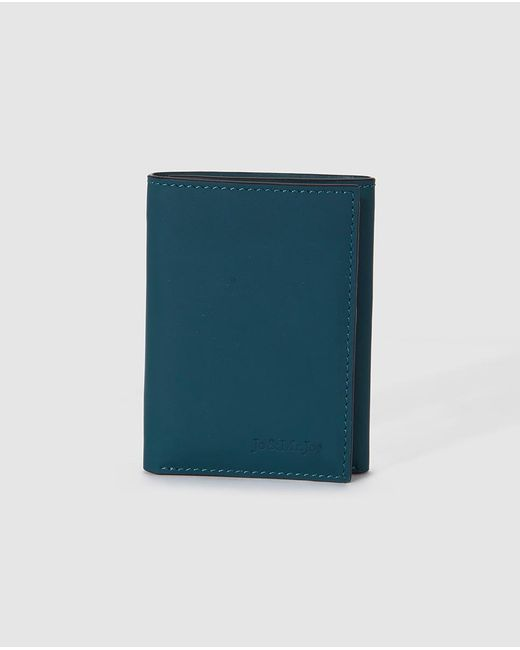 Jo & Mr. Joe - Mens Blue Leather Wallet for Men - Lyst