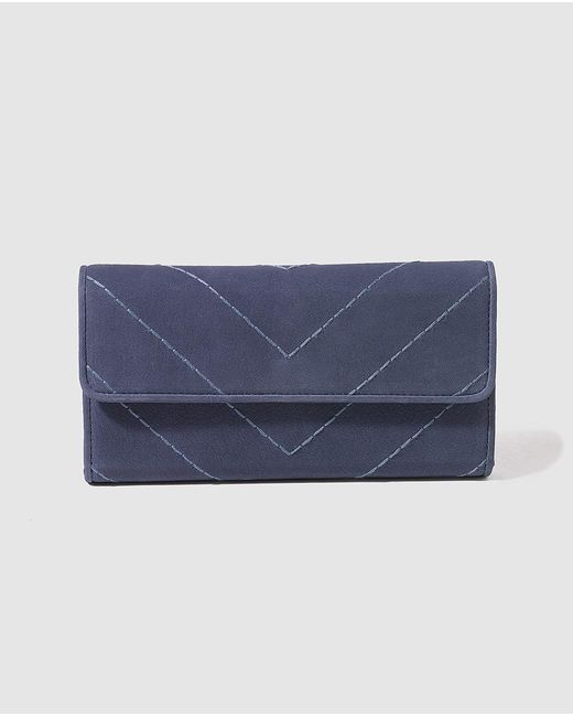 Gloria Ortiz | Midnight Blue Wallet With Space For 12 Cards | Lyst