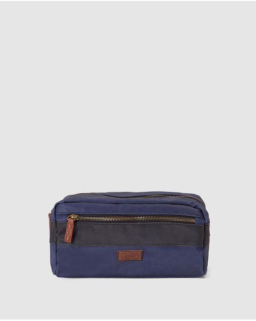 Jo & Mr. Joe - Blue Toiletry Bag With Zip for Men - Lyst