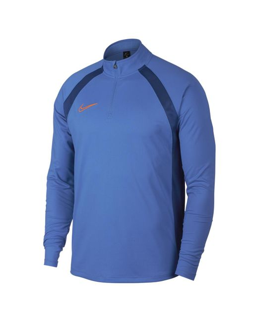 Nike - Blue Dri-fit Academy T-shirt for Men - Lyst