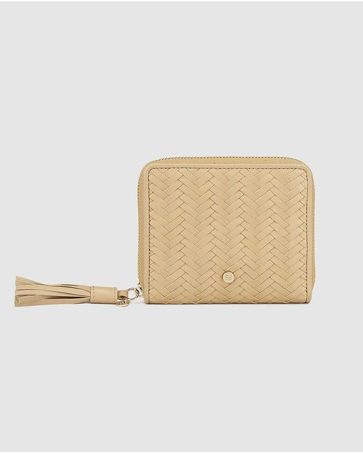 Gloria Ortiz - Wo Small Brown Plaited Leather Wallet - Lyst