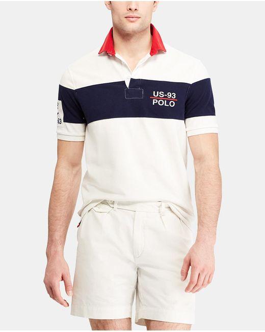 Polo Ralph Lauren - White Short Sleeved Regular-fit Piqué Polo Shirt for Men - Lyst
