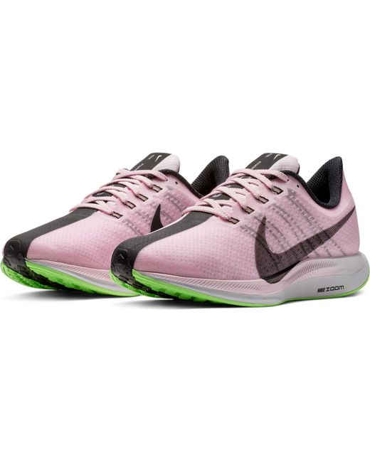 a3d62d4d3adf ... Nike - Pink Zoom Pegasus 35 Turbo Running Shoes - Lyst ...