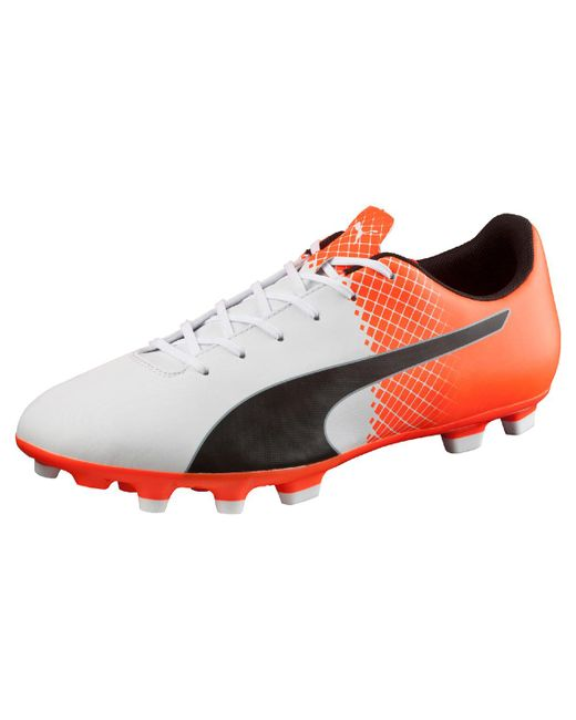 PUMA - Orange Evospeed 5.5 Ag Football Boots for Men - Lyst