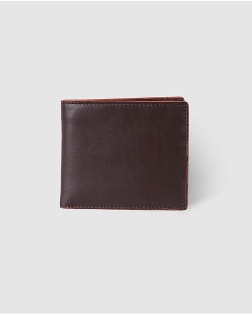 El Corte Inglés - Mens Plain Brown Leather Wallet for Men - Lyst