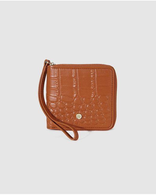 Gloria Ortiz - Adrienne Small Brown Leather Wallet - Lyst