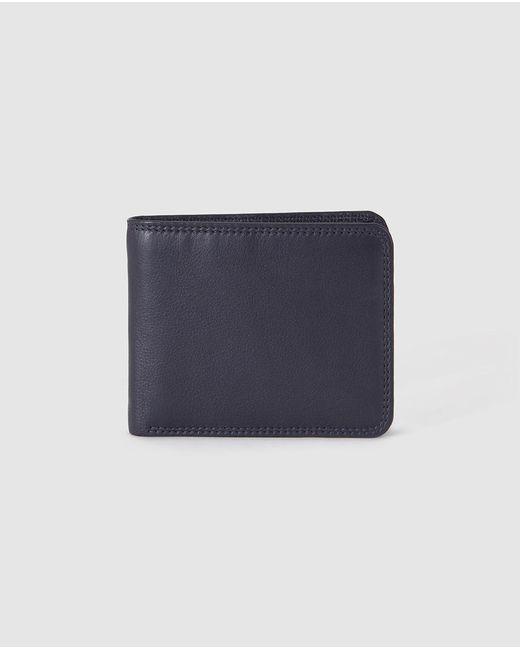 El Corte Inglés - Mens Navy Blue Leather Wallet for Men - Lyst