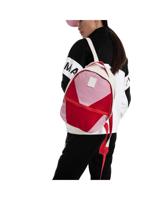 ba7295d13412 ... PUMA - Pink Prime Time Archive Backpack - Lyst