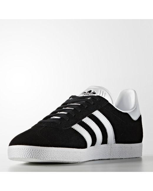Lyst adidas Originals Gazelle casual formadores en negro para hombres