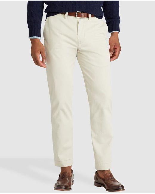 Polo Ralph Lauren - Natural Beige Regular-fit Chinos for Men - Lyst