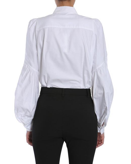 0161d1b01 Marc Jacobs White Cotton Shirt in White - Save 43% - Lyst