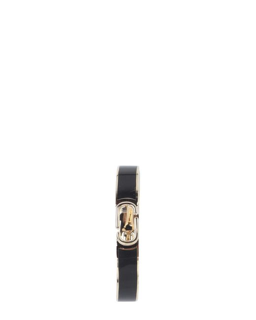 Marc Jacobs - Black Bracciale Rigido Double J In Ottone - Lyst
