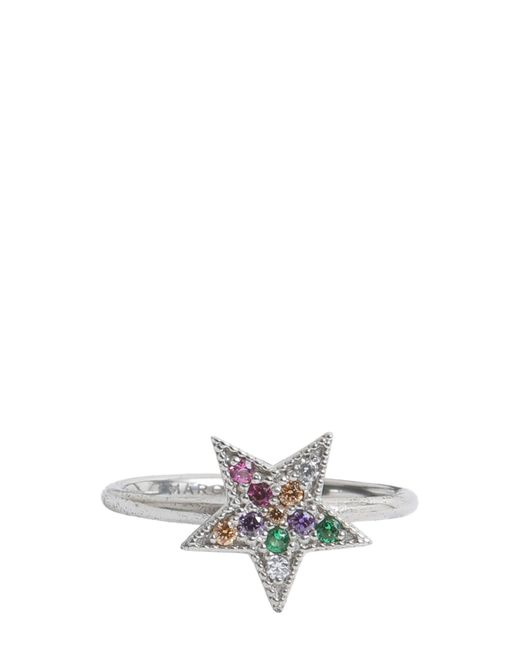 Marc Jacobs | Metallic Anello Rainbow Star Finitura Argento | Lyst