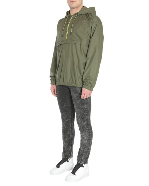 "Diesel Black Gold - Green ""jiway"" Windbreaker In Technical Fabric for Men - Lyst"