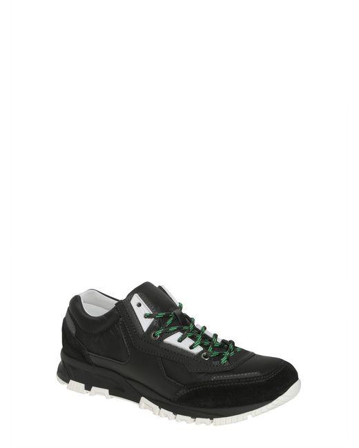 ... Lanvin - Black Sneaker Running In Tessuto Tecnico E Pelle for Men -  Lyst ... 489f9e4822e