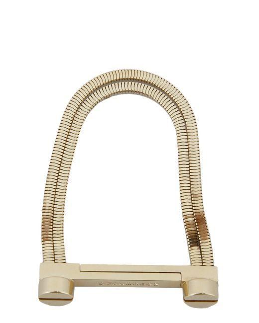 DSquared² - Metallic Screwed Brass Bracelet - Lyst