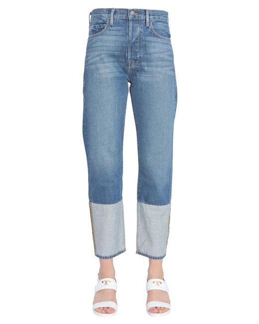 """FRAME - Blue """"le Original"""" Cult Classic Fit Jeans - Lyst"""