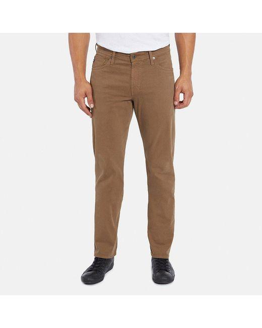 AG Jeans - Brown Graduate Jean In Dark Wheat for Men - Lyst