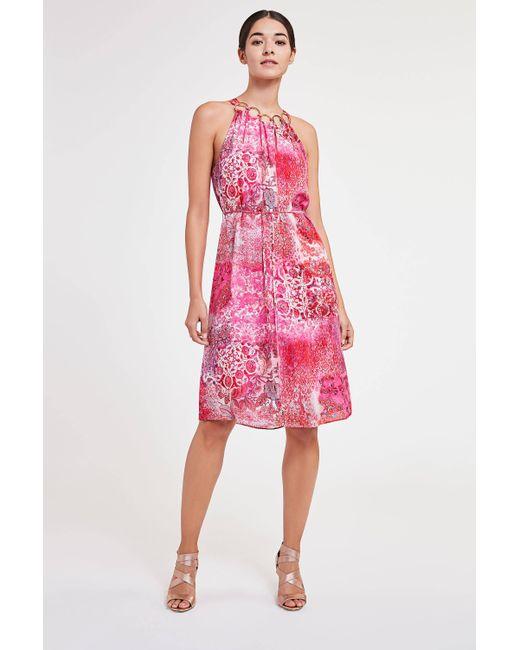 Elie Tahari | Pink Courtney Dress | Lyst