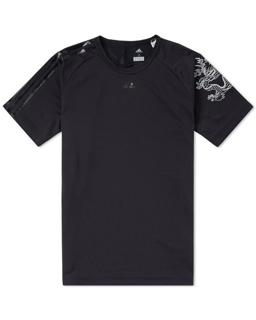 Adidas Originals | Black X Kolor Climachill Tee for Men | Lyst