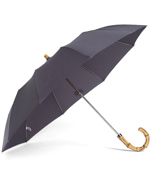 London Undercover - Gray Whangee Telescopic Umbrella - Lyst