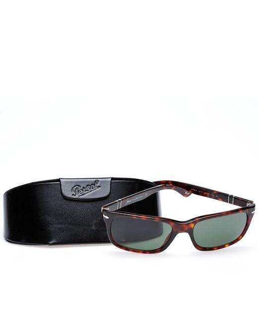 5a378fd52f4 ... Persol - Brown 3048s Slim Aviator Sunglasses for Men - Lyst