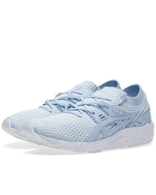 Asics - Blue Gel-kayano Trainer Knit Lo W - Lyst