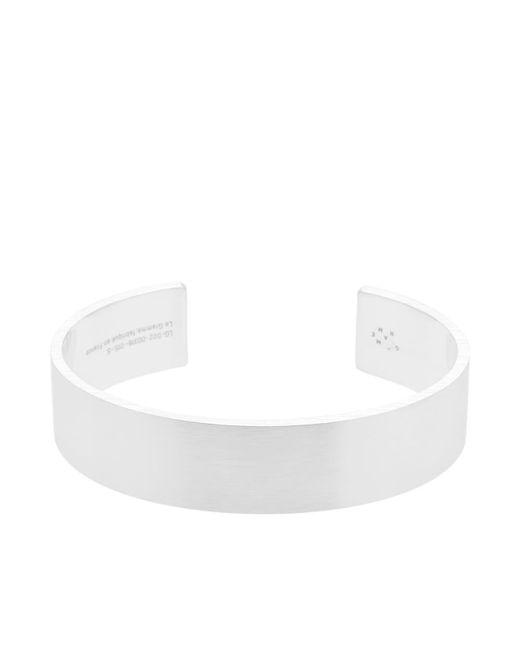 Le Gramme - Metallic Brushed Ribbon Bracelet for Men - Lyst