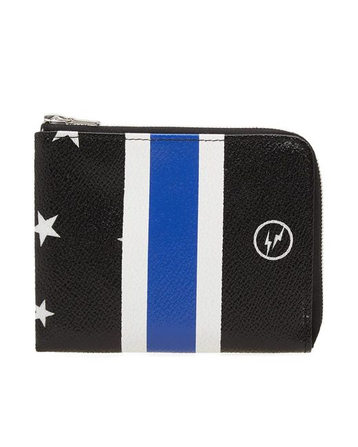 Uniform Experiment - Black Star Stripe Small Wallet - Lyst