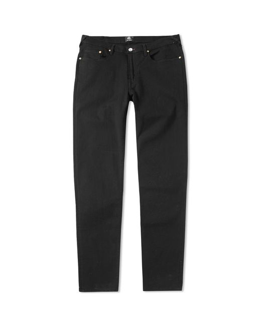 Paul Smith - Black Tapered Fit Lightweight Stretch Jean for Men - Lyst