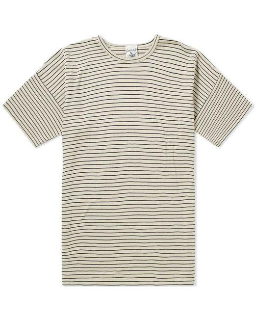 S.N.S Herning - Blue Original Stripe Tee for Men - Lyst