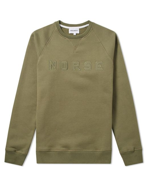Norse Projects | Green Ketel Logo Crew Sweat for Men | Lyst