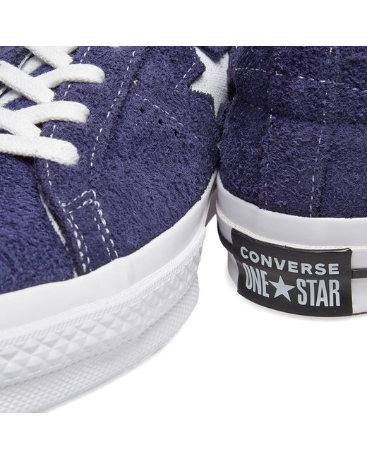 fe72418d834d Lyst - Converse One Star Ox Vintage Suede in Purple for Men - Save 38%