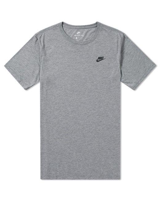 Nike   Gray Bonded Tee for Men   Lyst