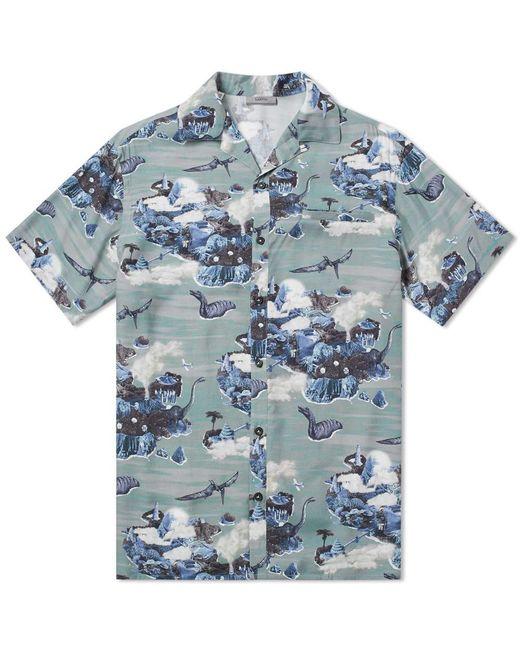 Lanvin - Green Hawaiian Dino Vacation Shirt for Men - Lyst
