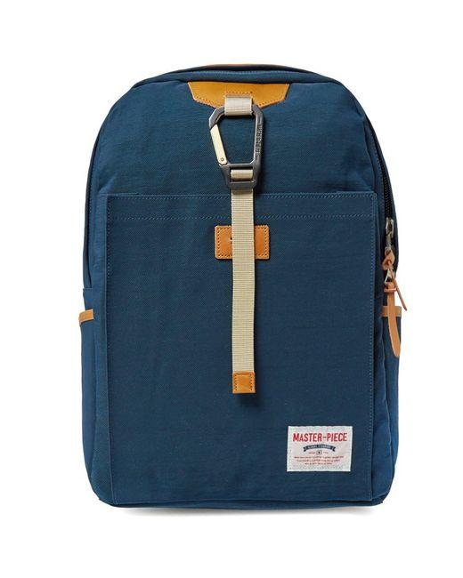 Master Piece - Blue Link Backpack for Men - Lyst