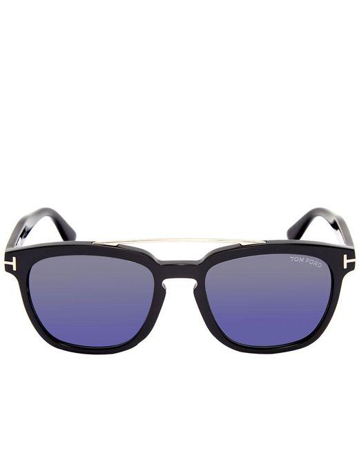 9b6531faaa47 ... Tom Ford - Black Tom Ford Ft0516 Holt Sunglasses for Men - Lyst ...