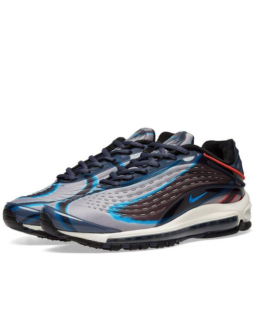236f49d09c Nike - Blue Air Max Deluxe for Men - Lyst ...