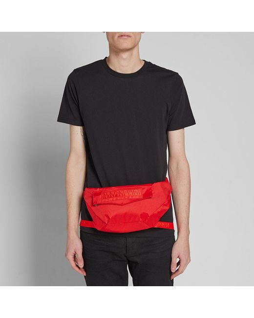 3e07fabda828 ... Martine Rose - Red Peric Waist Bag for Men - Lyst ...