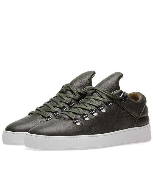 Filling Pieces | Green Mountain Cut Sneaker for Men | Lyst