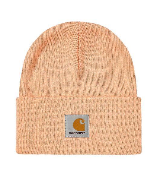4f1b7ccb546 Carhartt WIP - Orange Carhartt Watch Hat for Men - Lyst ...