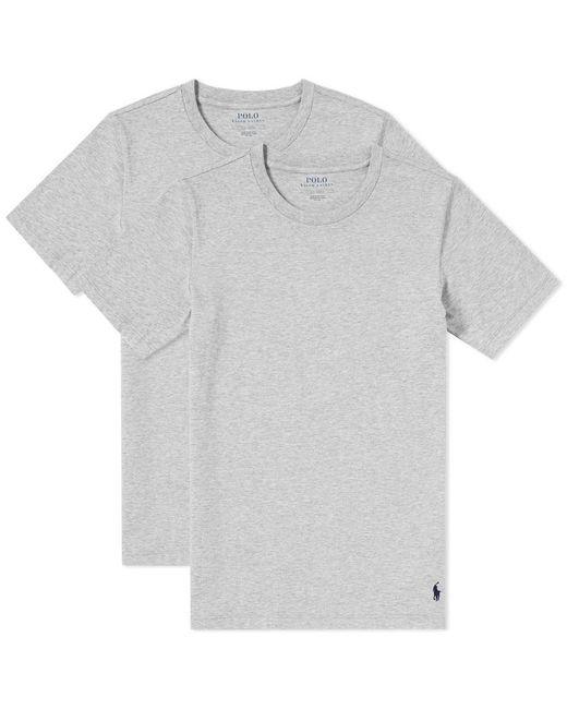 Polo Ralph Lauren - Gray Crew Neck Tee - 2 Pack for Men - Lyst